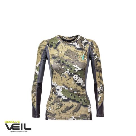 HUNTERS ELEMENT CORE TOP WOMEN DESOLVE VEIL