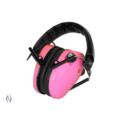 CALDWELL LOW PROFILE PINK ELECTRONIC EAR MUFFS