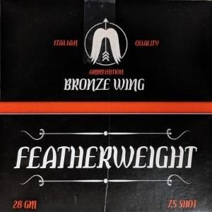 BRONZE WING FEATHER WEIGHT 28G 7.5 25PK