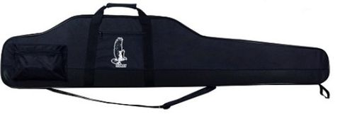 METONI DELUXE THICK EGG SHELL GUN CASE BLACK 52 INCH