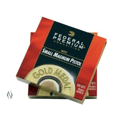 FEDERAL PRIMER GOLD MEDAL SMALL PISTOL MAGNUM 1000PKT