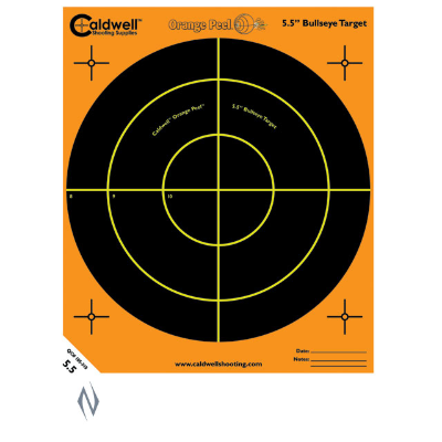 CALDWELL ORANGE PEEL BULLSEYE 5.5INCH 10PKT