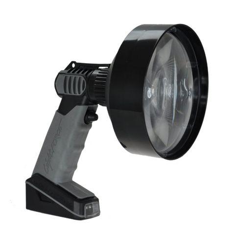 LIGHTFORCE ENFORCER 140MM HAND HELD LED 6 WATT WHITE W/DIMMER