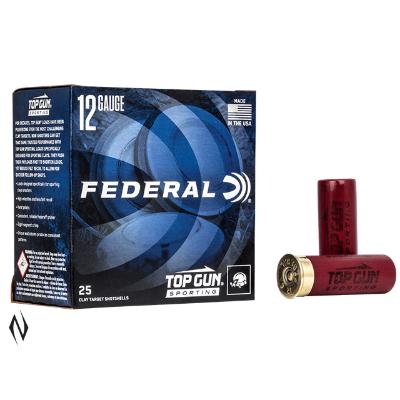 FEDERAL TOP GUN SPORTING 12GA 28GR #8 1250 FPS AMMO 25PKT