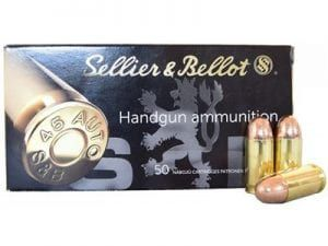 SELLIER AND BELLOT 45LC 230GR JHP