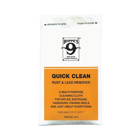 HOPPES QUICK CLEAN RUST & LEAD REMOVER CLOTH