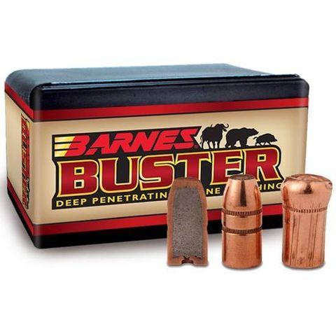BARNES 45CAL .458 400GR BUSTER FN FB PROJECTILES 50PK