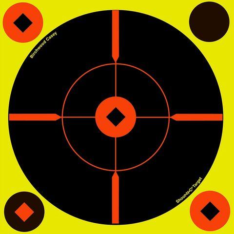 BIRCHWOOD CASEY TARGETS SHOOT N SEE ROUND 8INCH 6PKT