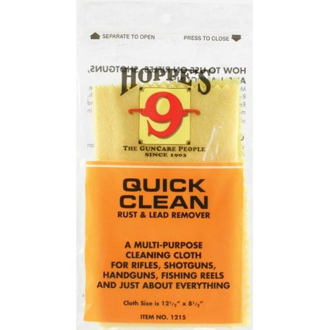 HOPPES CLEANING CLOTH RUST & LEAD REMOVER