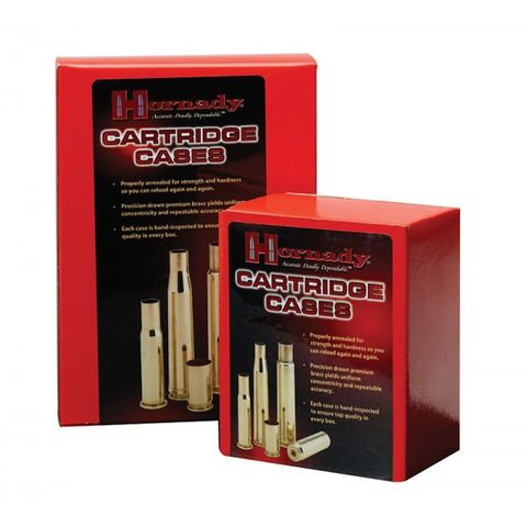 HORNADY 22 HORNET UNPRIMED BRASS CASES 50PK