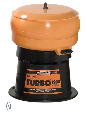 LYMAN 1200 AUTO FLO TURBO TUMBLER