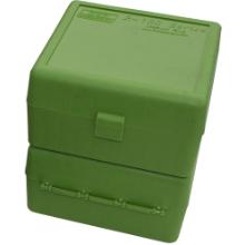 MTM 100RND AMMO BOX 22-250-308 GREEN