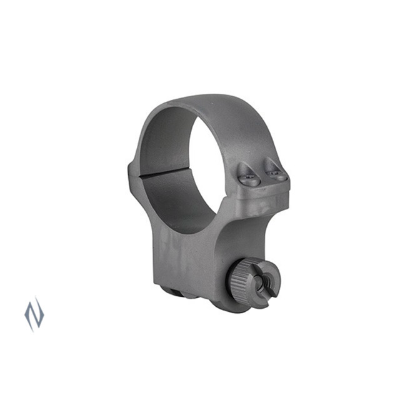RUGER RINGMOUNT HIGH 30MM MATTE STAINLESS