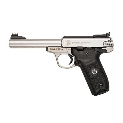 SMITH & WESSON M22 VICTORY 5.5INCH STAINLESS 22LR