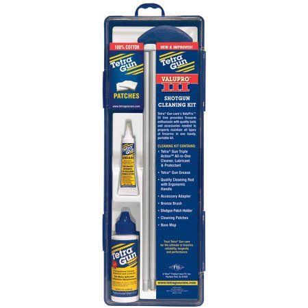 TETRA VALUEPRO III SHOTGUN CLEANING KIT 20 GA
