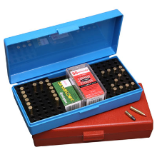 MTM 200RND AMMO BOX 22LR BLUE