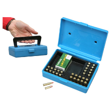 MTM 30RND AMMO BOX 22LR BLUE
