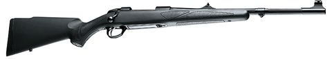 SAKO 85 BLACK BEAR SYNTHETIC FLUTED 30-06 WITH SIGHTS