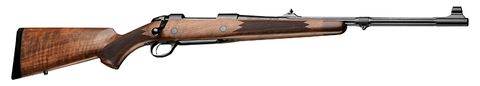 SAKO 85 GRIZZLY BEAR WOOD BLUED FLUTED 30-06 WITH SIGHTS