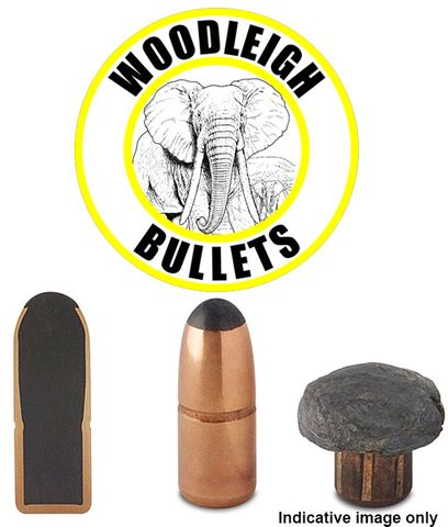 WOODLEIGH 458MAG .458 480 GR RN SN PROJECTILES 50PK