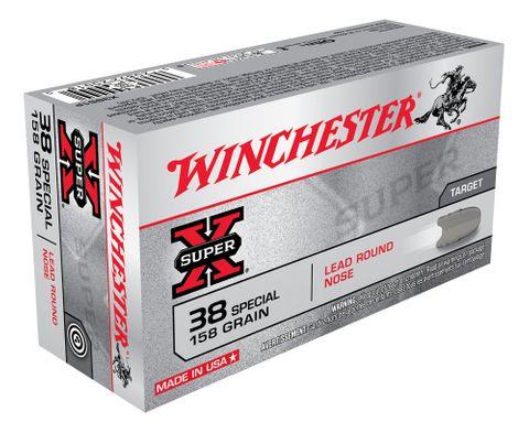 WINCHESTER SUPER X 38SP 158G LRN 50PKT