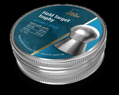 H & N FIELD TARGET TROPHY 14.66GR .22 PELLET 500PKT