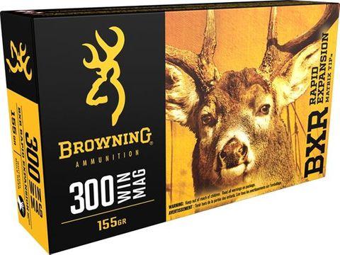 BROWNING BXR 300WIN 155GR REMT 20PKT