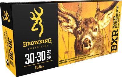 BROWNING BXR 30-30WIN 155GR REMT 20PKT
