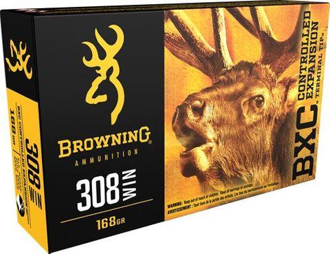 BROWNING BXC 308WIN 168GR CETT 20PKT