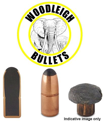 WOODLEIGH 45-70 .458 300GR FNSN PROJECTILES 50PK