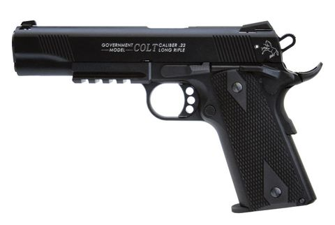 COLT RAIL GUN 127MM 10RND BLUED 22LR