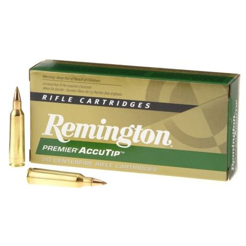 REMINGTON PREMIUM 223REM 55GR ACCUTIP-V BT  20PKT