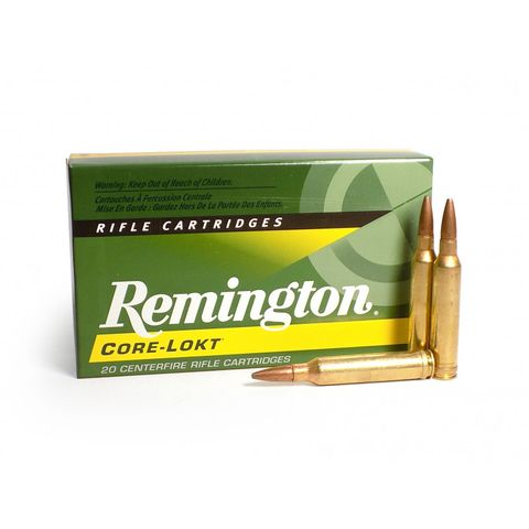 REMINGTON CORE-LOKT 25-06REM 100G PSP 20PKT