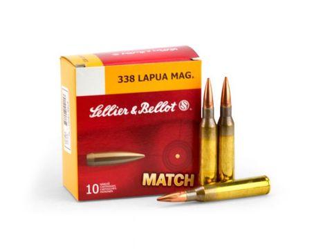 SELLIER & BELLOT  338 LAPUA 250GR HPBT 10PKT