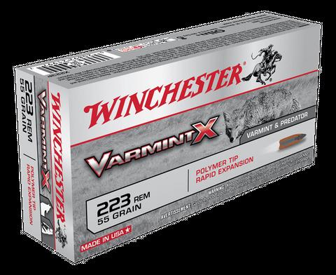 WINCHESTER VARMINT X 223REM 55GR PT 20PKT