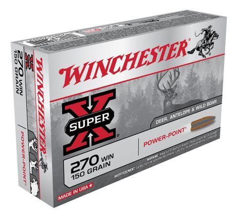 WINCHESTER SUPER X 270WIN 150GR PP 20PKT