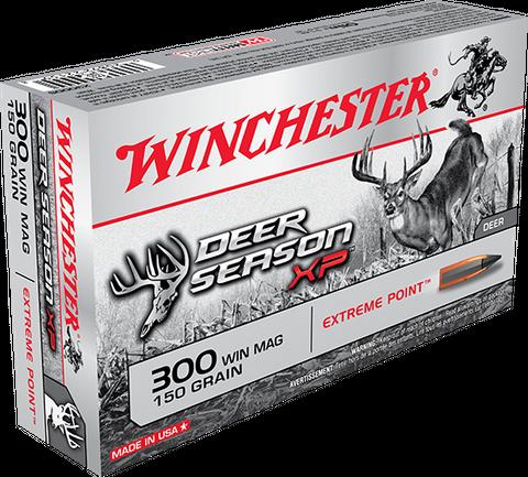 WINCHESTER DEER SEASON 300 BLACKOUT 150G XP 20PKT
