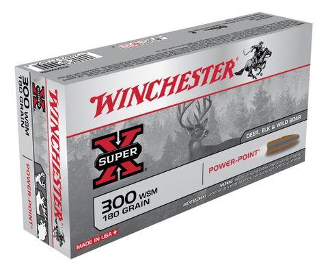WINCHESTER SUPER X 300WSM 180GR PP 20PKT