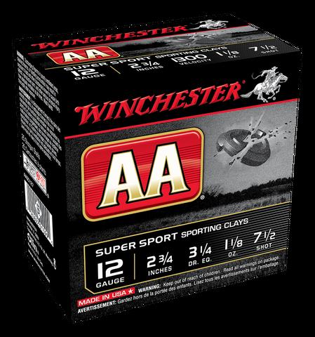 WINCHESTER AA SUPER SPORTING 1300FPS 12GA 32GR 250PKT