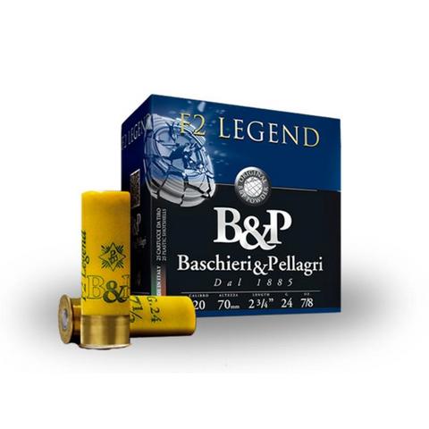 B & P F2 LEGEND 20GA 24GR 2 3/4 9.5 250PKT