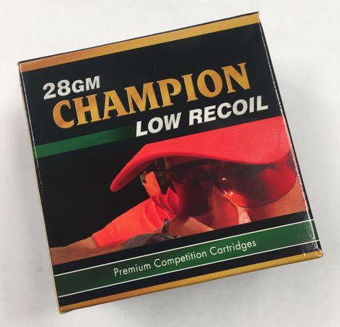 CHAMPION LOW RECOIL 1180FPS 12GA 28GR 25PKT
