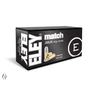 ELEY MATCH 1085FPS 22LR 40GR FN 500PKT