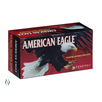 FEDERAL AMERICAN EAGLE 17WSM 20GR TIPPED 50PKT