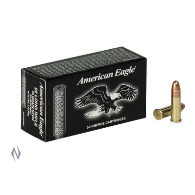 FEDERAL AMERICAN EAGLE SUPPERSSOR 22LR 45GR 50PKT
