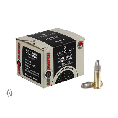 FEDERAL AUTOMATCH 1200FPS 22LR 40GR LRN 325PKT