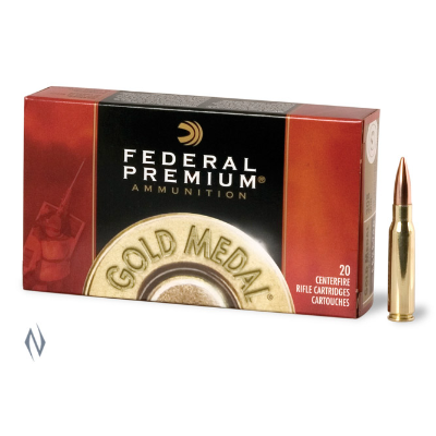 FEDERAL PREMIUM GOLD MEDAL 308WIN 168GR MATCHKING 20PKT
