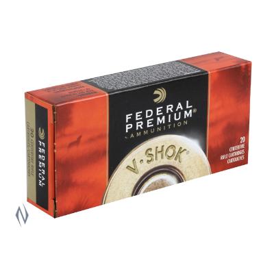 FEDERAL PREMIUM V-SHOK 243WIN 55GR NOSLER BTIP 20PKT