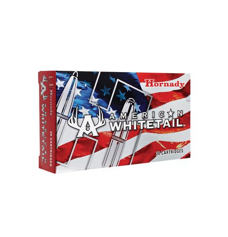 HORNADY AMERICAN WHITETAIL 270WIN 130GR SP 20PKT