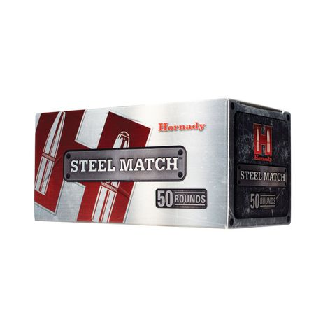HORNADY STEEL MATCH 308WIN 155G BTHP 50PKT