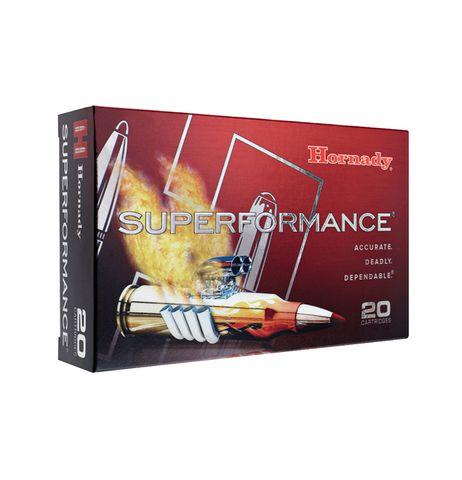 HORNADY SUPERFORMANCE 6.5X55 120GR GMX 20PKT